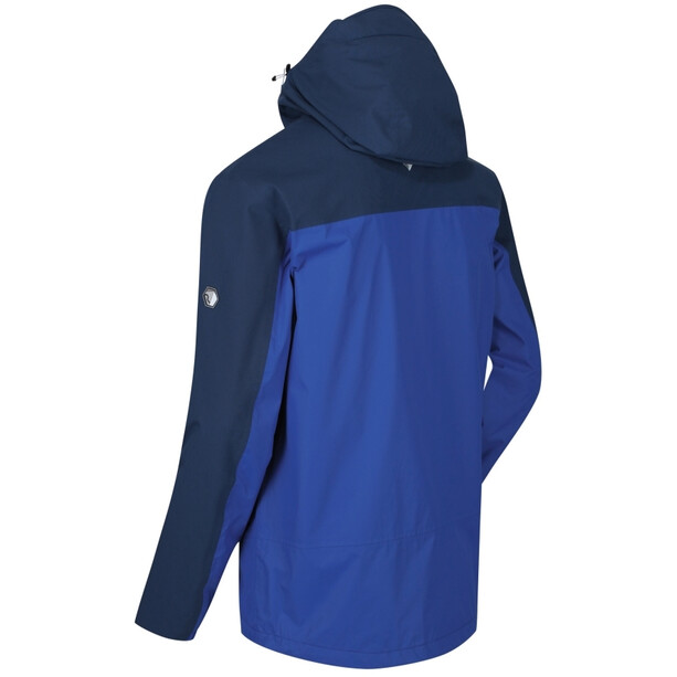 Regatta Highton Stretch Veste Shell Imperméable Homme, bleu