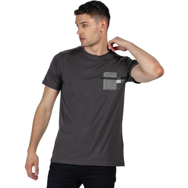 Regatta Cline IV T-Shirt Herren seal grey marl