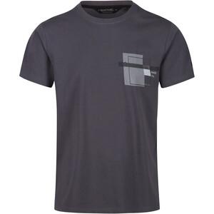 Regatta Cline IV T-Shirt Homme, gris gris