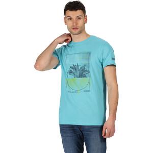 Regatta Cline IV T-Shirt Herren maui blue maui blue