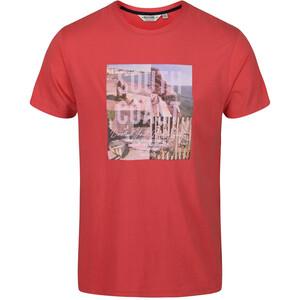 Regatta Cline IV T-Shirt Homme, rouge rouge