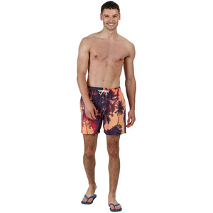 Regatta Mawson Swim Shorts Men sunset photographic sunset photographic