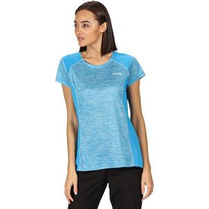 Regatta Breakbar V T-Shirt Damen blue aster blue aster