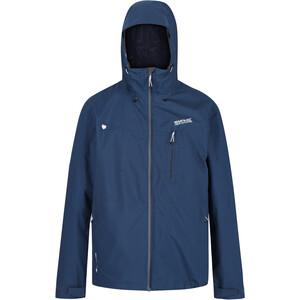 Regatta Birchdale Waterproof Shell Jacket Men dark denim dark denim