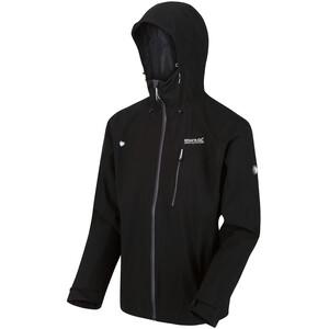 Regatta Birchdale Waterproof Shell Jacket Men black/magnet black/magnet