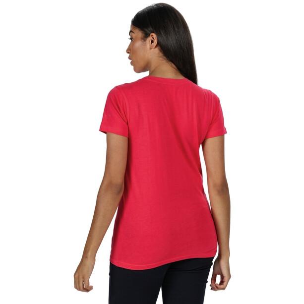 Regatta Filandra IV T-Shirt Damen virtual pink