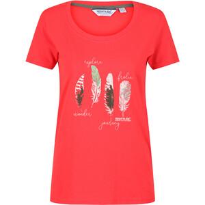 Regatta Filandra IV T-Shirt Femme, rouge rouge