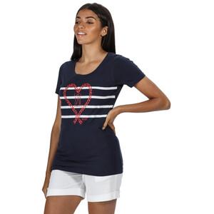 Regatta Filandra IV T-Shirt Damen navy sail navy sail