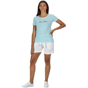 Regatta Olwyn T-Shirt Damen ceramic stripe ceramic stripe