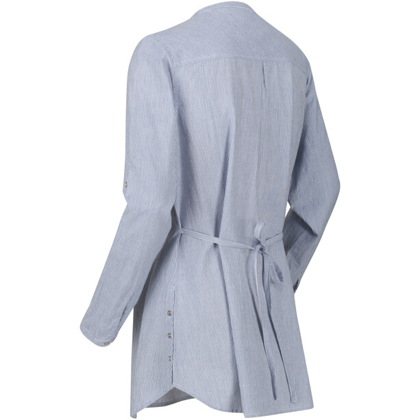 Regatta Maelie Langarmshirt Damen blau