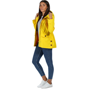 Regatta Ninette Waterproof Shell Jacke Damen yellow sulphur yellow sulphur