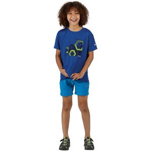 Regatta Alvarado V T-Shirt Kinder nautical blue nautical blue