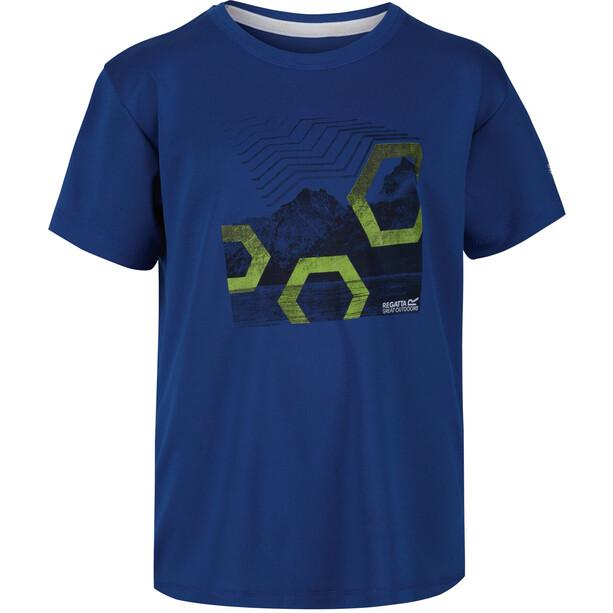 Regatta Alvarado V T-Shirt Kinder blau
