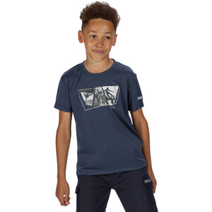 Regatta Alvarado V T-Shirt Kinder dark denim dark denim