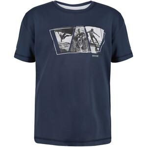 Regatta Alvarado V T-Shirt Kinder blau blau