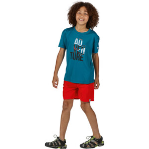 Regatta Alvarado V T-Shirt Kinder olympic teal olympic teal