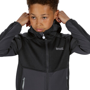 Regatta Bracknell II Soft Shell Jacke Kinder seal grey/seal grey/black seal grey/seal grey/black