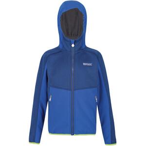 Regatta Bracknell II Soft Shell Jacke Kinder blau blau