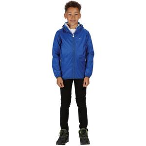 Regatta Lever II Waterproof Shell Jacket Kids, nautical blue nautical blue