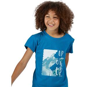 Regatta Bosley III T-Shirt Kinder petrol blue petrol blue