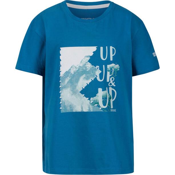 Regatta Bosley III T-Shirt Kinder petrol blue
