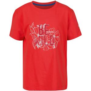 Regatta Bosley III T-Shirt Kinder rot rot