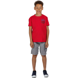 Regatta Bosley III T-Shirt Kinder true red true red