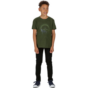 Regatta Bosley III T-Shirt Kinder racing green racing green