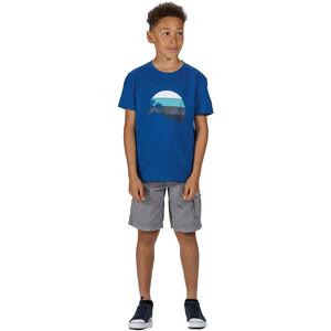 Regatta Bosley III T-Shirt Kinder nautical blue nautical blue
