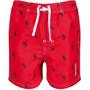 Regatta Skander II Shorts Kinder true red palm print
