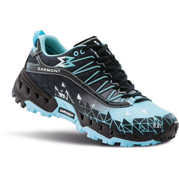 Garmont 9.81 Bolt Chaussures Femme, noir/turquoise