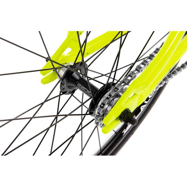 """Radio Bikes Cobalt Junior 20"""" black/neon yellow"""