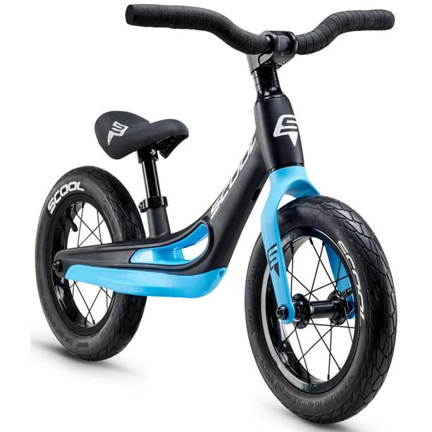s'cool pedeX Magnesium Enfant, noir/bleu