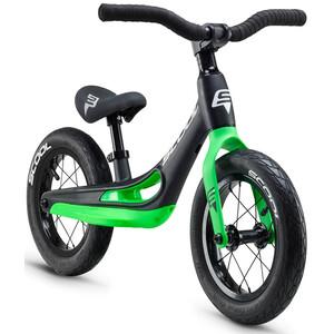 s'cool pedeX Magnesium Kinder schwarz/grün schwarz/grün