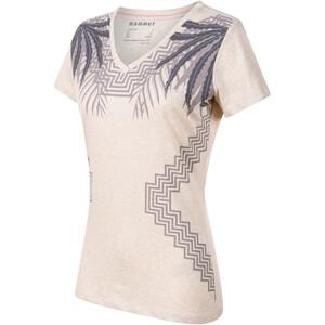Mammut Zephira T-Shirt Women, moonbeam melange moonbeam melange