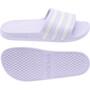 adidas Adilette Aqua Claquettes Femme, violet/blanc