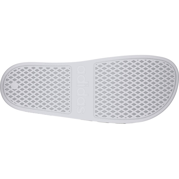 adidas Adilette Aqua Slipper Herren footwear white/platin metal/footwear white