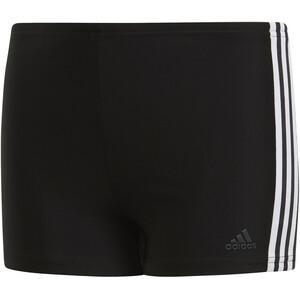 adidas Fit 3S Schwimm-Boxershorts Jungen schwarz/weiß schwarz/weiß