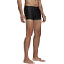 adidas Fit Semi3S Schwimm-Boxershorts Herren black/shock cyan