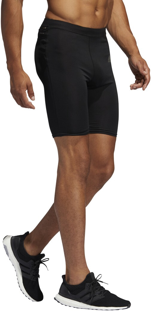 adidas OTR Kurze Tights Herren black
