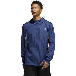 adidas OWN The Run Jacke Herren tech indigo/scarlet/white tech indigo/scarlet/white