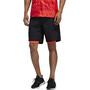 "adidas OWN The Run 2N1 Short 7"" Homme, black/solar red"