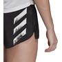 adidas Speed Split Shorts Women, musta