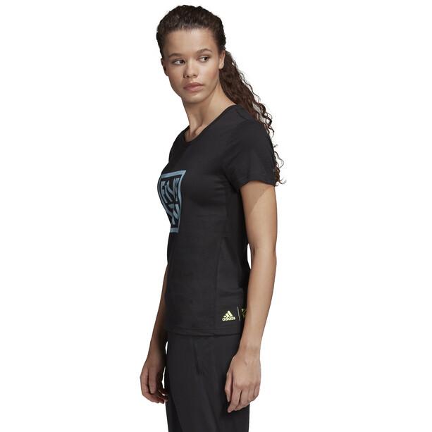 adidas Five Ten 5.10 GFX T-Shirt Damen black