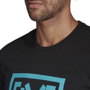 adidas Five Ten 5.10 GFX T-Shirt Herren black black