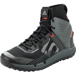adidas Five Ten Trailcross Mid Pro Mountain Bike Shoes Men core black/grey two/solar red core black/grey two/solar red