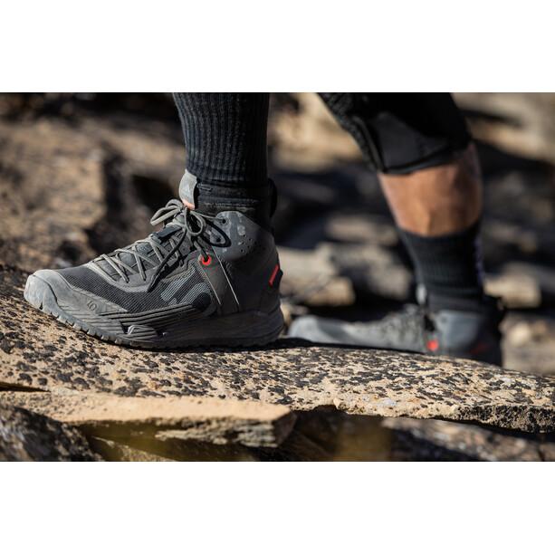 adidas Five Ten Trailcross Mid Pro Mountain Bike Shoes Men core black/grey two/solar red
