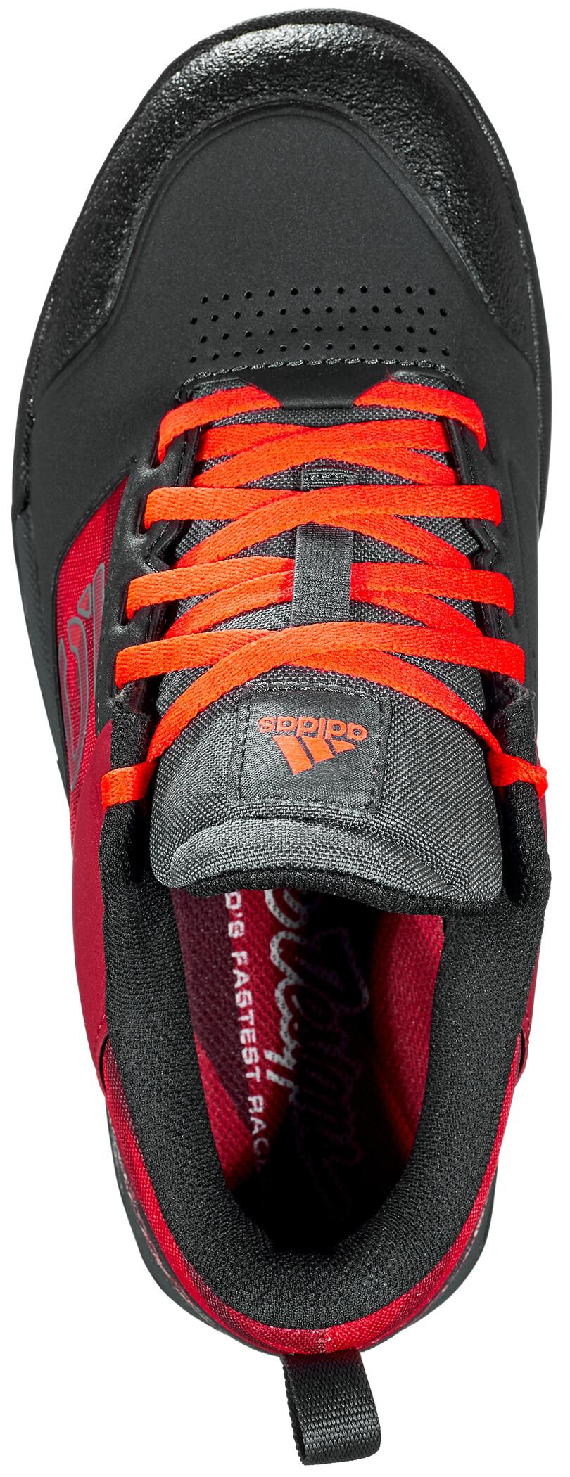 adidas Five Ten Impact Pro TLD Mountain Bike Schuhe Herren carbonstrong redsolar red