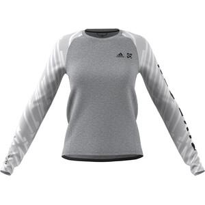 adidas Five Ten Trailcross Langarmshirt Damen grey three grey three
