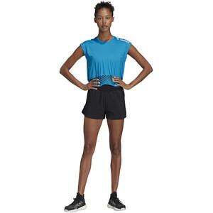 adidas TERREX Agravic Crop T-Shirt Damen sharp blue sharp blue